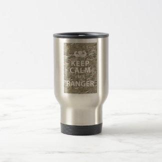 Keep Calm I'm A Ranger Travel Mug
