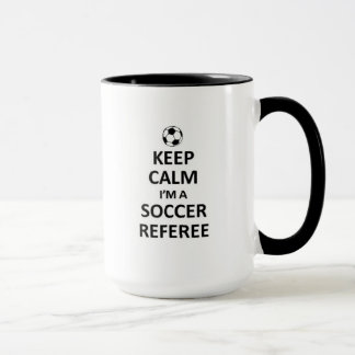 Keep calm I'm a soccer referee Mug