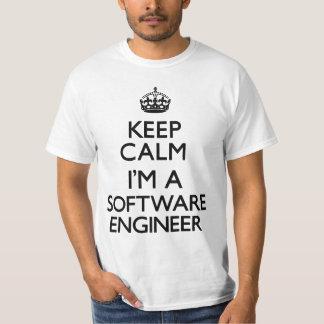 Keep Calm I'm A Software Engineer T-Shirt