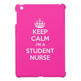 KEEP CALM I'M A STUDENT NURSE PINK NURSING GIFT CASE FOR iPad MINI
