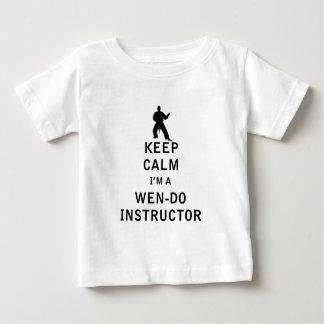 Keep Calm I'm a Wen-Do Instructor Baby T-Shirt