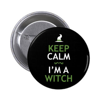 Keep Calm - I'm a Witch Button