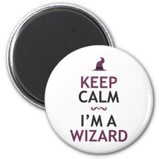 Keep Calm I'm A Wizard Magnet
