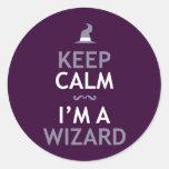 Keep Calm I'm A Wizard Sticker