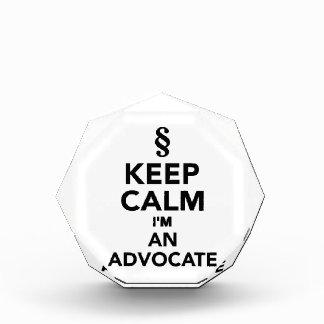 Keep calm I'm an advocat Award