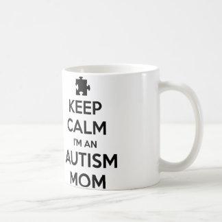 Keep Calm I'm An Autism Mom Coffee Mug