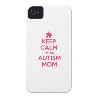 Keep Calm I'm An Autism Mom iPhone 4 Case-Mate Case