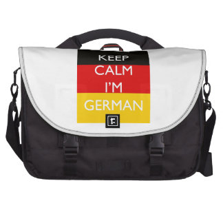 Keep Calm I'm German Bags For Laptop