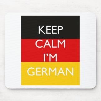 Keep Calm I'm German Mouse Pad