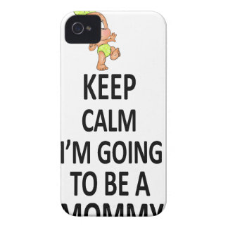 Keep Calm I'm Going To Be A Mommy Case-Mate iPhone 4 Case