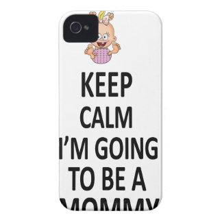 Keep Calm I'm Going To Be A Mommy iPhone 4 Case