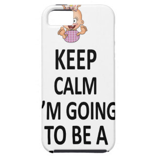 Keep Calm I'm Going To Be A Mommy iPhone SE/5/5s Case