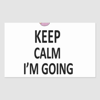 Keep Calm I'm Going To Be A Mommy Rectangular Sticker