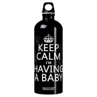 Keep Calm I'm Having A Baby (any color) SIGG Traveler 1.0L Water Bottle