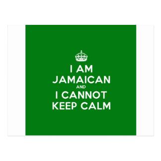 Keep Calm Im Jamaican Postcard