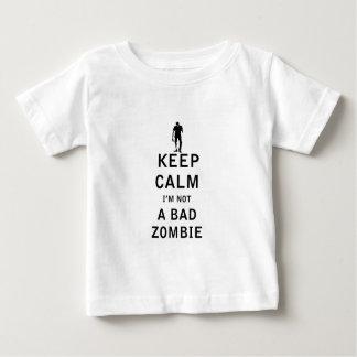 Keep Calm I'm Not a Bad Zombie Tshirts