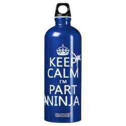SIGG Traveller Water Bottle (0.6L) with Keep Calm I'm Part Ninja design