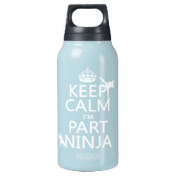 SIGG Thermo Bottle (0.5L) with Keep Calm I'm Part Ninja design