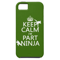 Case-Mate Vibe iPhone 5 Case with Keep Calm I'm Part Ninja design