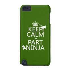 Case-Mate Barely There 5th Generation iPod Touch Case with Keep Calm I'm Part Ninja design