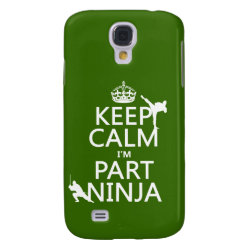 Case-Mate Barely There Samsung Galaxy S4 Case with Keep Calm I'm Part Ninja design