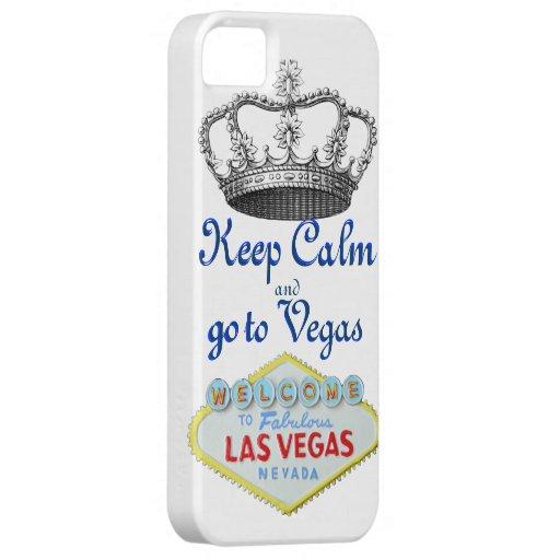 Keep Calm in Las Vegas iPhone 5 Covers