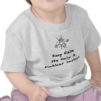 Keep Calm - Infant sizes Tshirts