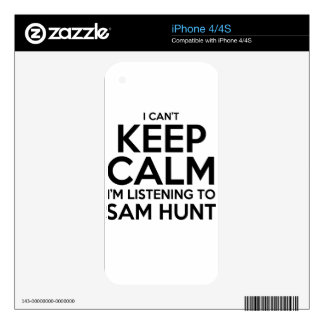 keep calm iPhone 4S decals