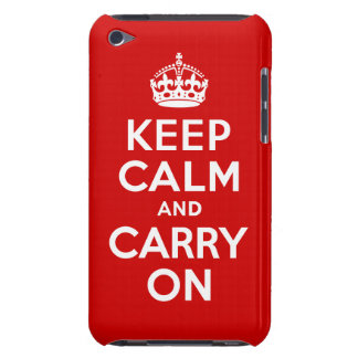 Keep Calm iPod Touch Barely There Case Barely There iPod Cases