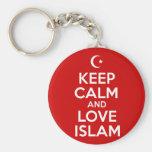 Keep Calm Islamic Keychain