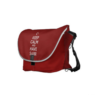 Keep Calm Islamic Messenger Bag