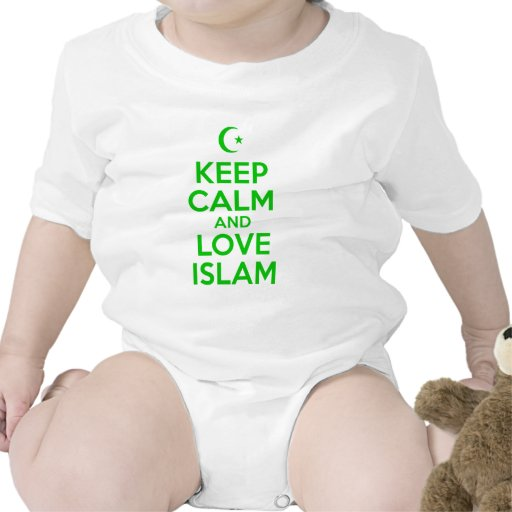 Keep Calm Islamic Bodysuits