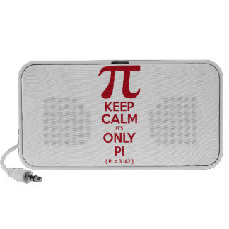 Keep Calm It s Only Pi Laptop Speakers