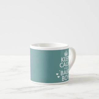 Keep Calm It's A Boy Espresso Cup
