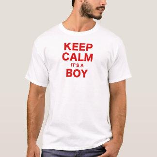 Keep Calm Its a Boy T-Shirt