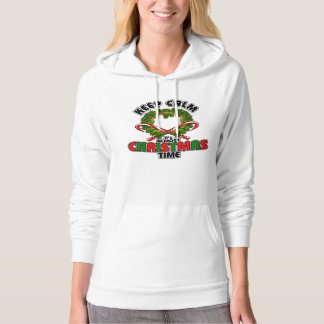 Keep Calm its Almost Christmas Time Hoodie