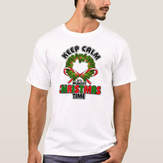Keep Calm its Almost Christmas Time T-Shirt