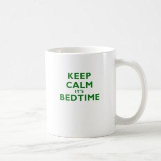 Keep Calm Its Bedtime Coffee Mug
