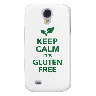 Keep calm it's gluten free samsung galaxy s4 case