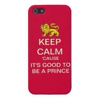 Keep Calm Its Good To Be A Prince Droid RAZR Case Cover For iPhone 5