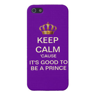 Keep Calm Its Good To Be A Prince iPhone Case