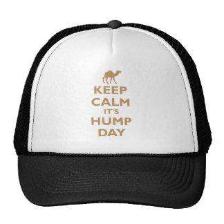 Keep Calm It's Hump Day Trucker Hat