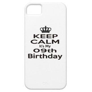 Keep Calm It's My 9th Birthday iPhone 5 Case