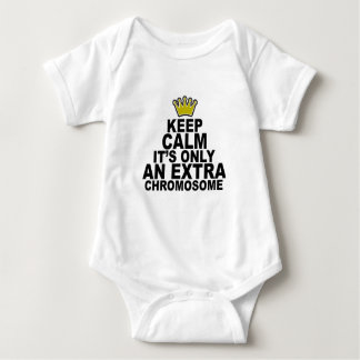 Keep calm it's only an extra chromosome Shirts.png T Shirt