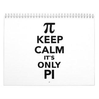 Keep calm it's only Pi Calendar