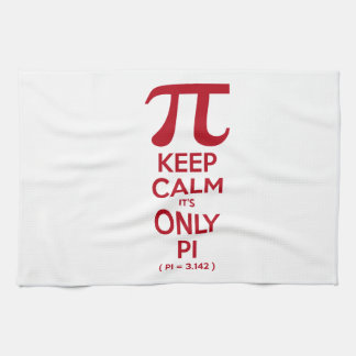 Keep Calm It's Only Pi Kitchen Towel