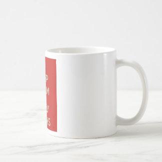 Keep Calm It's Only Twins Basic White Mug
