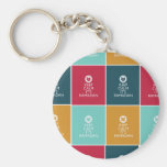keep calm its ramadan! basic round button keychain