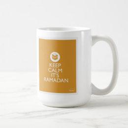 keep calm its ramadan-gold coffee mug