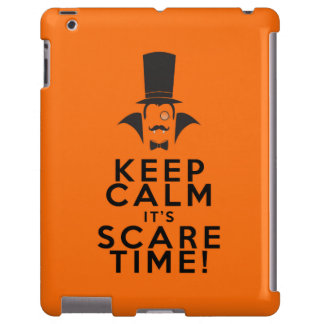 Keep Calm it's Scare time iPad barely there case